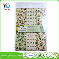 Best Selling A4 Size Custom Printed Paper Pack Scrapbooking For Kids Pack Paper Crafts