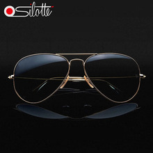 1:1 High quality aviator sun glasses 3025 mirror vintage polarized sunglasses