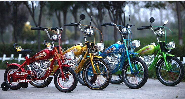 Cool Boy Motor Bike/Chopper Bike Motor Bikes/Mini small Children Motorcycle Cross Bicycle