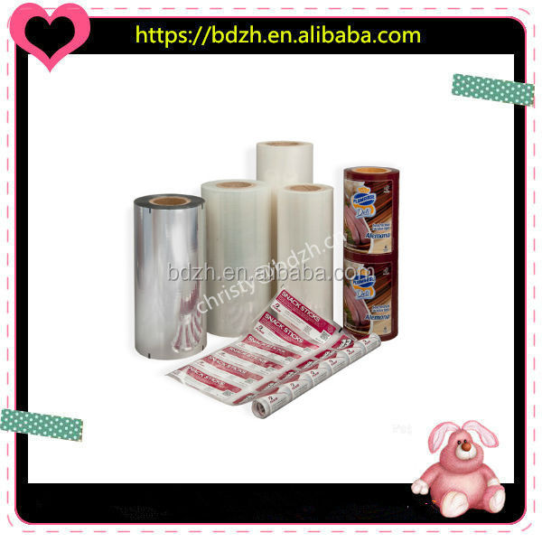Aluminum coffee bag/small coffee packing stick plastic film rolls/coffee packing sachet, VMPET Coffee Powder Packing Roll Film