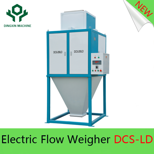 Electric Vertical Rice Flow Scale with capacity of 20T/H, used for rice, grain, food industry
