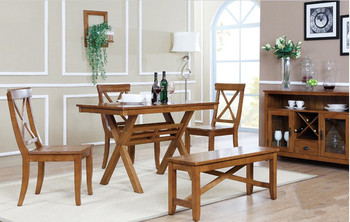 Elegant Dining Room Furniture Set Table And Chairs English Country Style Dinning