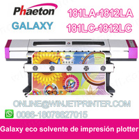 Universal digital Galaxy printer UD-2112LA ,DX5 Printhead Eco solvent printer with flatbed table(1440dpi)