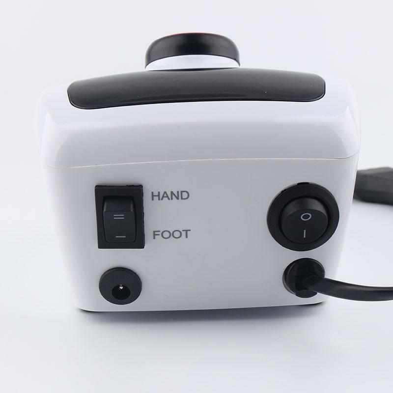 Nuovo Disegno 206A Forte Electric Nail Drill 35000 rpm Manicure Display Digitale Portatile Del Trivello Del Chiodo Della Macchina