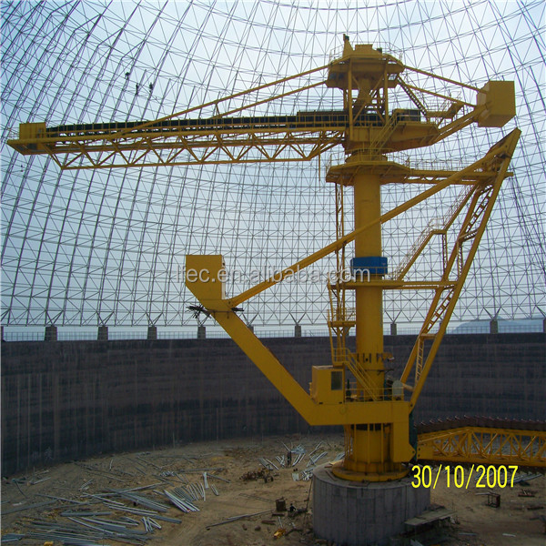 Strong Steel Space Frame Structure Limestone Dome Storage