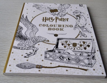 Paper Roll Design Your Own Coloring Book Printing Harry Potter Book - Buy  Harry Potter Book,Book Printing,Coloring Book Printing Product on ...