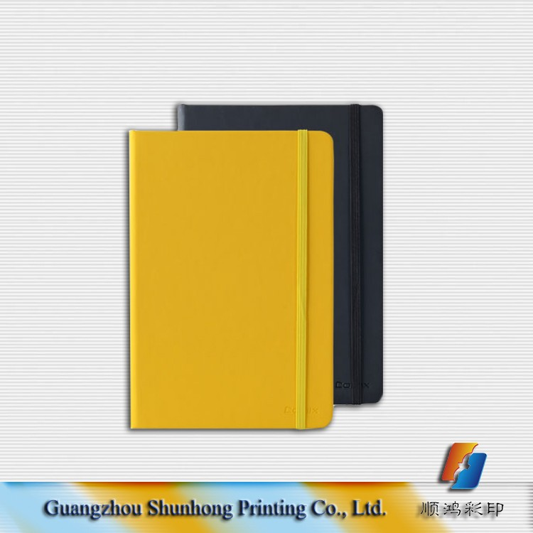 Guangzhou cheap wholesale simple design paper notebook printing
