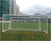 High quality sports equipment foldable street soccer goal