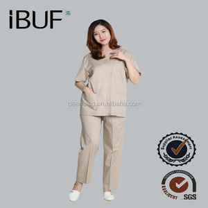 Fashion Nursing Scrub Medical Apparel Uniform Top China
