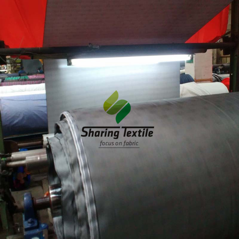 Low Price Printed Taffeta Pvc Coating Sunshade Waterproof Raincoat Wind Deflector Ready Made Goods Stock Stocklot Fabric