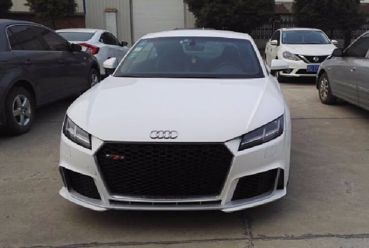 2015+ ABS Chromed TTRS bodykit Car Grille RS Style Front Bumper