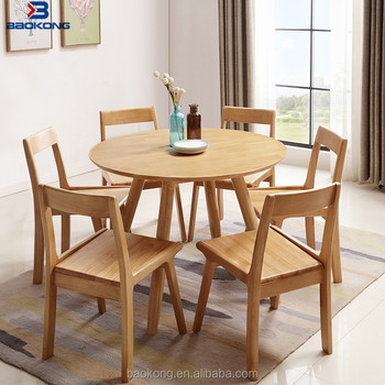 wooden cafe furniture compact modern round table and chair set buy