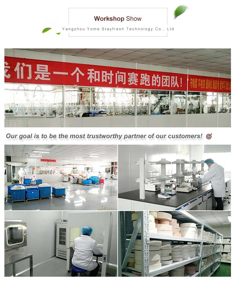 Yome 150cc melhor mantido ferro pacotes absorvedor de oxigênio para jerky melhor fornecedor na China