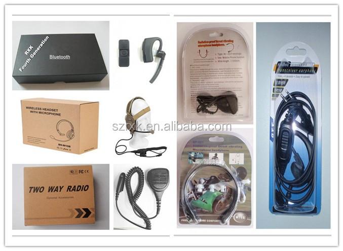 OEM Mini Walkie Talkie Rádio em Dois Sentidos 16 Canais até 1000 Metros Display LCD Handheld com Speaker zello presunto rádio para garçom