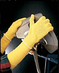 Ansell Size 8 GoldKnit Heavy Weight Kevlar® String Knit Reversible Cut Resistant Gloves