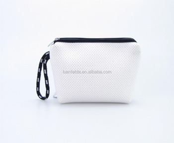 Neoprene Women Cosmetic Bag Teenage Girl Pouch