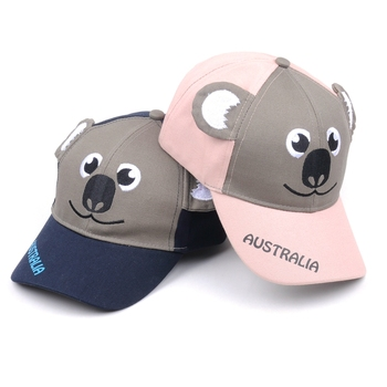 513d4dc2ccf8c Custom Made Cute Kangaroo Pattern Ears Baby Baseball Caps - Buy ...