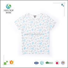Customized Printing Round Neck Body Fit T Shirt