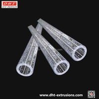 Acrylic bubble clear thicker tube