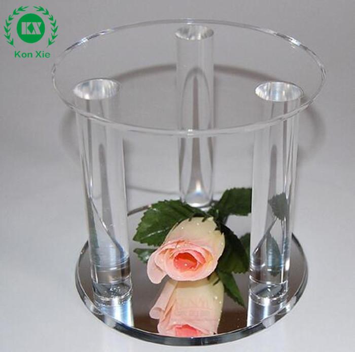 Fábrica de venta directa florero de acrílico, plexiglás artesanía ...