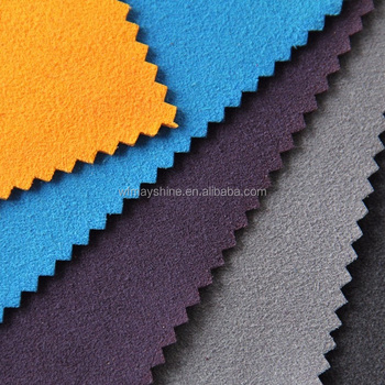 High Quality Knitting Polyester Spandex Microsuede Fabric for Garment