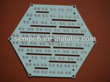 LED Spot Lights fr4 pcb board p10 wiht smd rgb led pcb