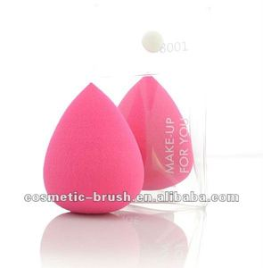 2012 New arrival best seller high quality sponge beauty girls cosmetic makeup water droplet powder puff