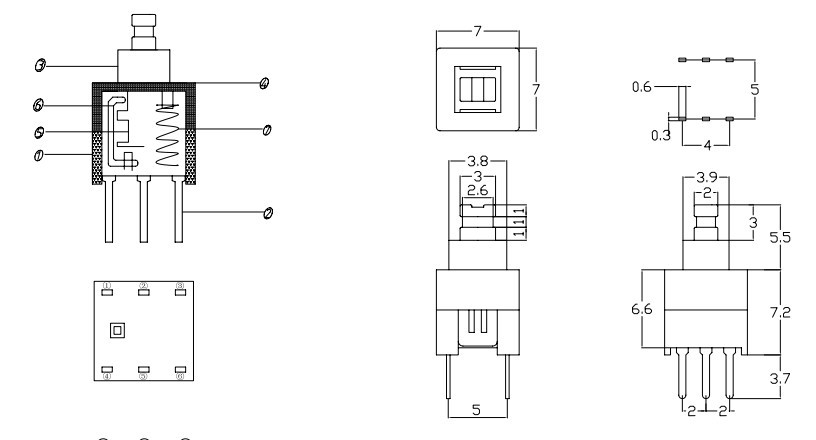 6 pin push button switch wiring diagram