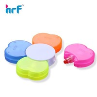 Flower Shaped Highlighters with Logo