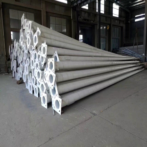 galvanized steel street lighting pole price 4m, 5m, 6m, 8m, 10m, 12m street light pole