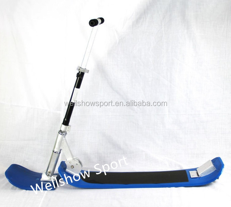 Wellshow Sport 2017 Folded ABS Plastic Snow skiing scooter