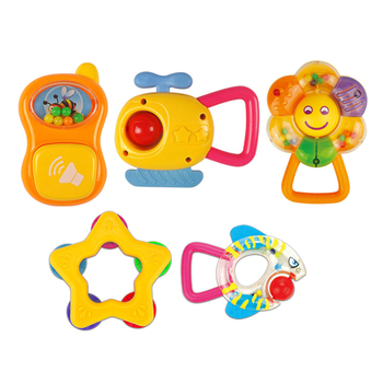 Billige Bunte Kunststoff Baby Zähne Klappern Spielzeug Buy