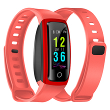 Heart Rate Blood Oxygen Monitor Smart Watch Wrist Smartwatch CB606 Smart Bracelet For Women Man