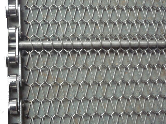 2018 Newest 304 Stainless Steel Sheet Conveyor Wire Mesh Belt