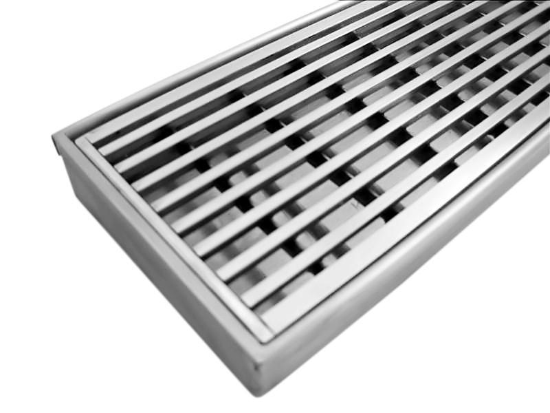 Long Stainless Steel Floor Drain Linear Shower Drain Floor Trap ...