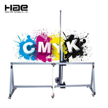 3D Direct To Wall Inkjet Printer High Resolution Vertical Wall Printer