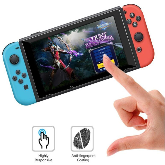 Innovative Product Game Glass Unbreakable for Nintendo Switch 9H Tempered Glass Screen Protector