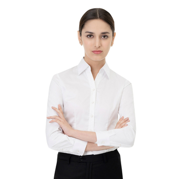 Factory Price Latest Womens Formal Shirts OEM Ladies Custom Business Shirt Wholesale Cheap Office Shirts
