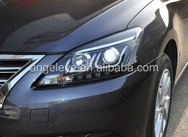 2012--2014 Year For Nissan Sylphy B17 Sentra Angel Eyes ...