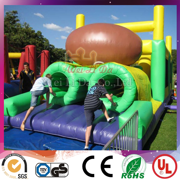 Latest design giant inflatable obstacle inflatable joust arena for rental