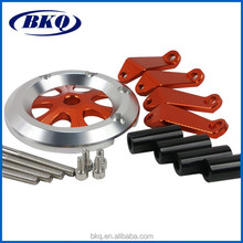 Aluminium automotive machining parts, bicycle accessories,motorcycle machining parts
