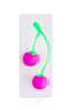 china good price Hot selling soft silicone cherry Kegel Eggs,kegel therapy balls