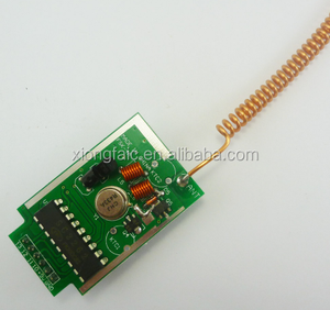 DC9V 433M 4Ch PT2262 ASK OOK RF Wireless Encoder Transmitter Module
