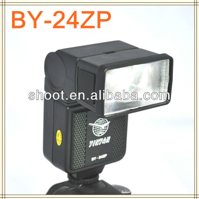 New dslr camera flash BY-24ZP Flash Speedlight for Canon Nikon Pentax Olympus