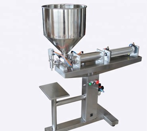 Semi automatic floor type cream puff filling machine/Commercial hand cream filling machine/facial cream