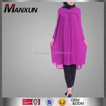 new specials footwear 100% quality Zero Collar Purple Tunic Dress Pakistani Modern Islamic Clothing Kaftan  Dress Pakistani Muslim Tunic Tops - Buy Tunic Dress Pakistani,Kaftan Dress  ...
