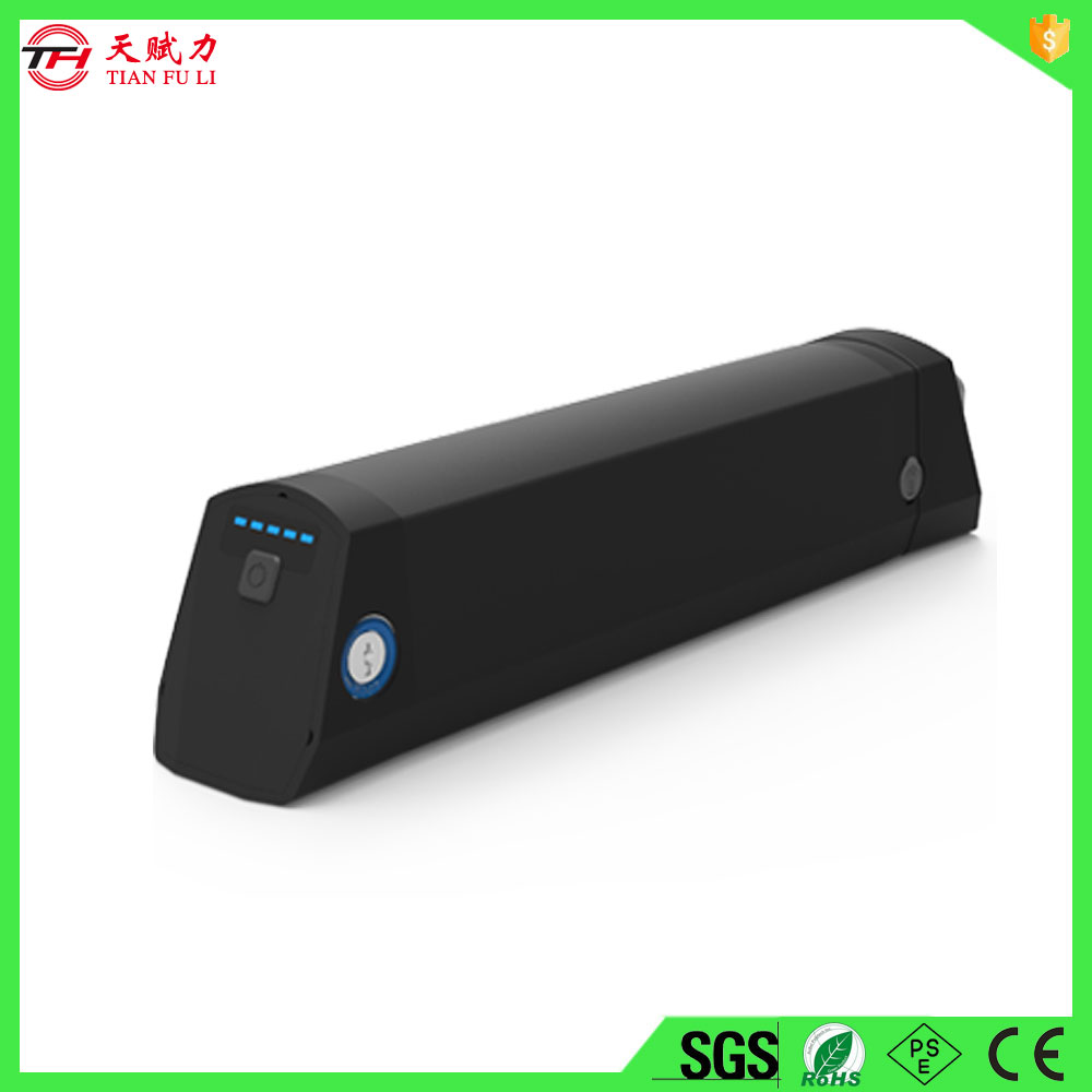 36 volt lithium ion battery for electric bicycle with 18650 cell for e-bike