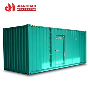 Soundproof material auto start control 800kw 1000 kva generator price with KTA38-G2 engine