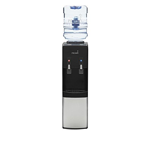 dfb290df94e Get Quotations · Primo® Stainless Steel 2 Spout Top Load Hot and Cold Water  Cooler Dispenser