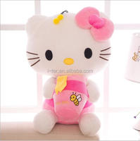 New quality most popular item hello kitty plush soft toy for baby